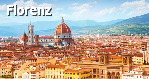 Italien Road Trip Übersicht Florenz