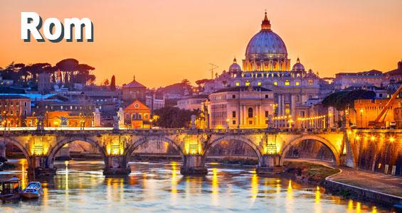 Italien Road Trip översikt Rom