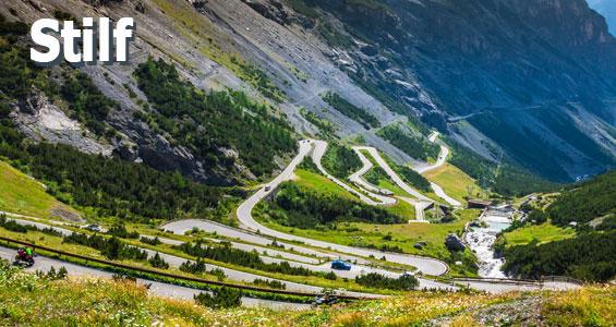 Italien Road Trip Übersicht Stelvio