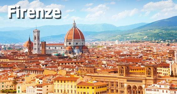 Italien Road Trip Oversigt Firenze