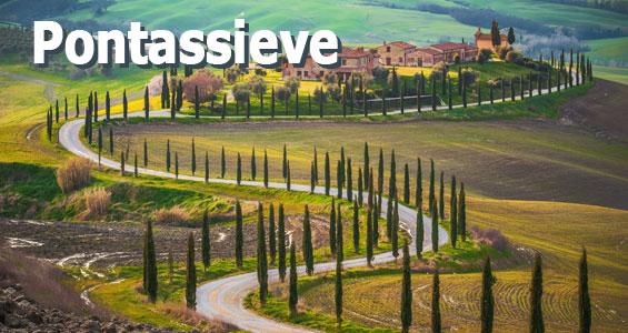 Italien Road Trip Oversigt Pontassieve