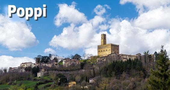 Italien Road Trip Oversigt Poppi