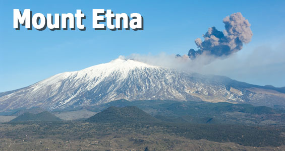 Road Trip Sicilien - berget Etna