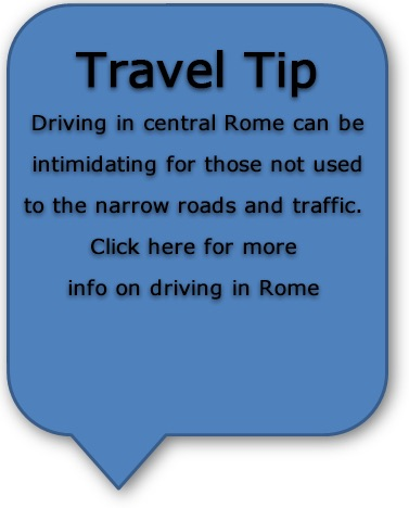 Italia Road Trip Roma Tips