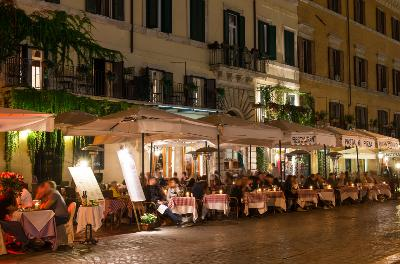 Italy Road Trip Planner Rome Restaurant