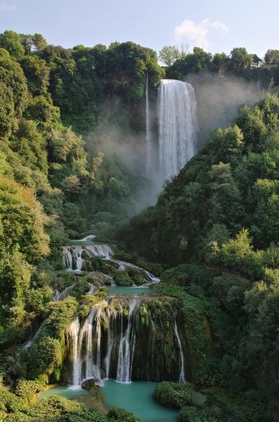 Italy Road Trip Terni - Cascata delle Marmore