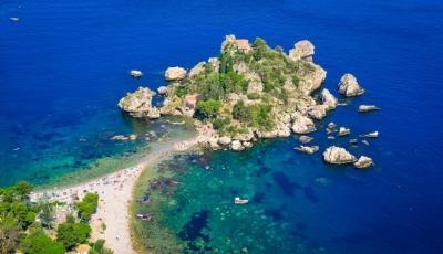 Автопутешествие по Сицилии Таормина Изола-Белла