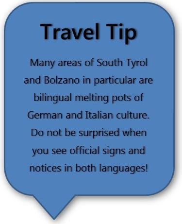Italia Road Trip planlegger Bolzano Reisetips