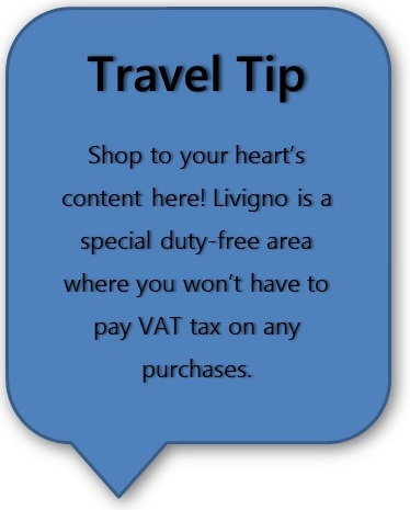 Italy Road Trip Planner Livigno Travel Tip