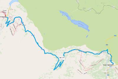 Road Trip Sud Tirolo - Mappa con itinerario per Bormio