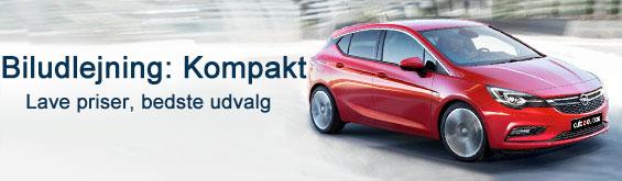 Kompakt kategori biludlejning
