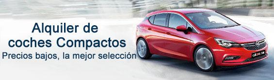 Alquiler de coches categoría Compacta