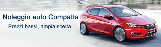 Noleggio auto categoria Compatta Europa