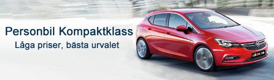 Du kan hyra en bil i kompaktklassen med Auto Europe