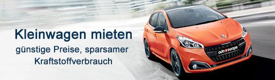Kleinwagen mieten Auto Europe