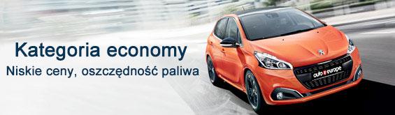 Wypożyczalnia samochodów kategorii economy