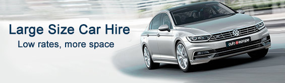 Large Car Category Hire