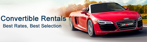 Convertible Hire with Auto Europe