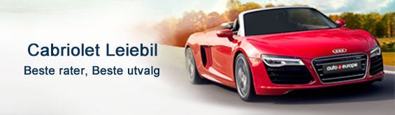 Leie Cabriolet med Auto Europe