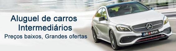 Aluguer de carros - Categoria Intermediária