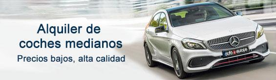 Alquiler de coches Medianos