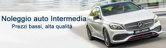 Noleggio auto Intermedia in Europa