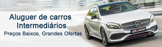 Aluguer de carros da categoria Intermédia