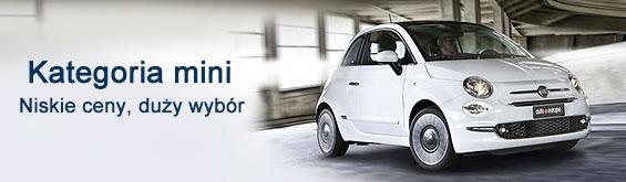 Wypożyczalnia samochodów kategorii mini