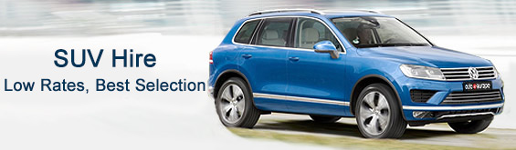 SUV Hire with Auto Europe