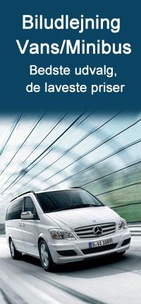 VAN billeje med Auto Europe