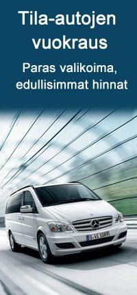 Vuokraa minibussi Auto Europelta