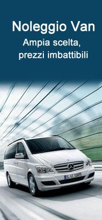 Noleggiare un Van con Auto Europe