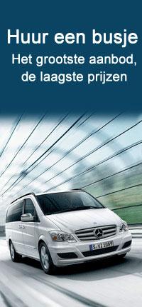 Minibus verhuur Auto Europe