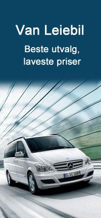 Utleie av Van med Auto Europe