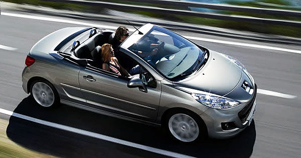 Book your convertible car hire