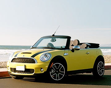 Mini cabriolet billeje