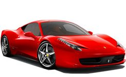 Alquilar con Auto Europe un Ferrari 458 Italia