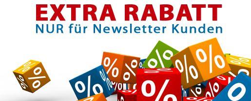 Extra Newsletter Rabatt