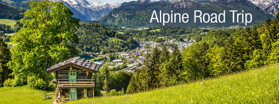 Driving the German Alpine Road - The Oldest Touring Road in Germany