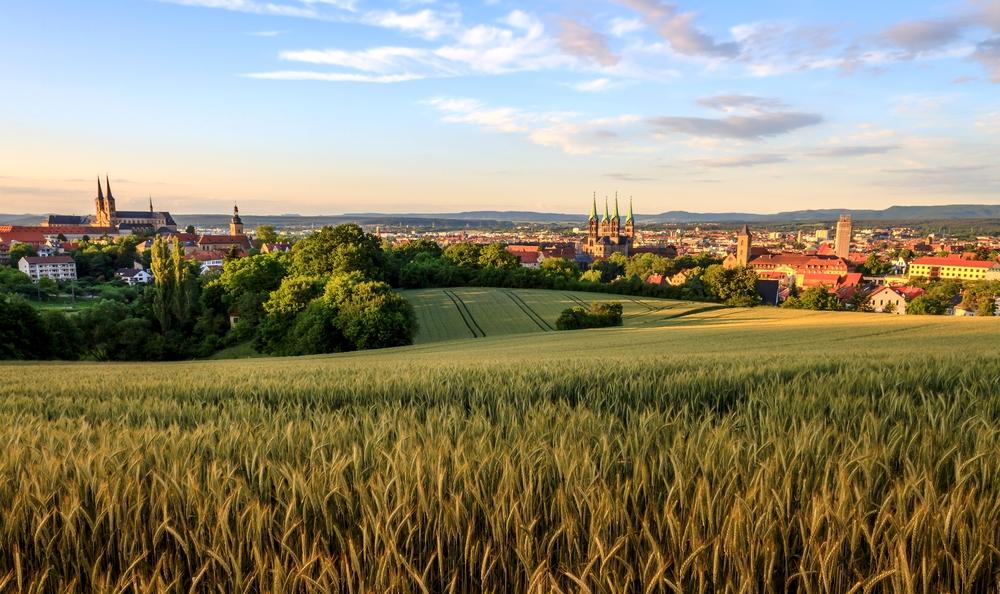 Tournée des Biergarten à Bamberg