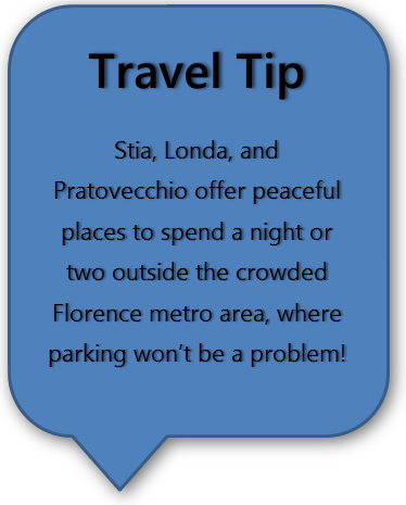 Stia Italy Travel Tip