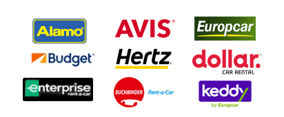 Auto Europe Mietwagen-Partner: Hertz, Avis, Dollar, Budget, Enterprise, National, Europcar, Buchbinder, Peugeot