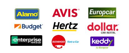 Empresas de alquiler con Auto Europe: Hertz, Avis, Dollar, Budget, Enterprise, National, Europcar, Buchbinder