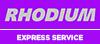 Rhodium Car Rental Desk at Rome Fiumicino Airport
