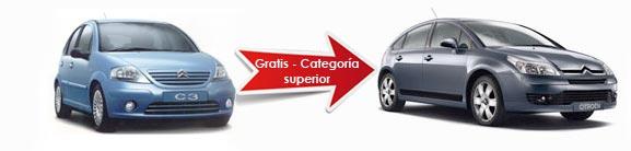 Una categoría superior - gratis con Auto Europe